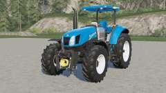 New Holland T6-seriҽs для Farming Simulator 2017