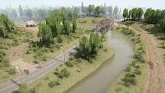 The River Side для MudRunner