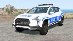 Cherrier FCV Turkish Police v1.1 для BeamNG Drive