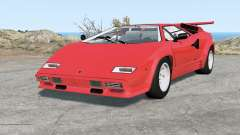 Lamborghini Countach LP5000 S QV 1985 для BeamNG Drive