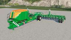 Amazone Condor 15001 increased work speed для Farming Simulator 2017