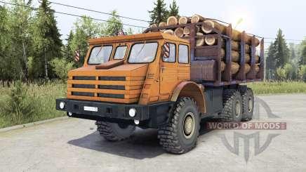 МоАЗ 74111 v2.0 для Spin Tires