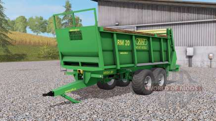 ZDT RM Ձ0 для Farming Simulator 2017