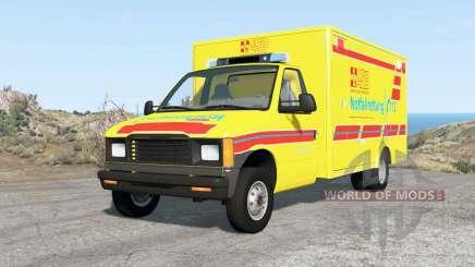 Gavril H-Series German Emergency v1.3 для BeamNG Drive