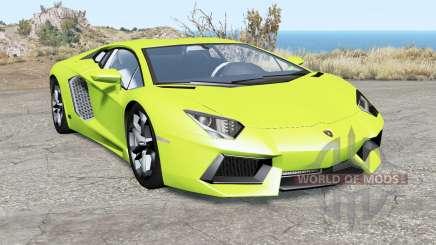 Lamborghini Aventador LP 700-4 (LB834) 2011 для BeamNG Drive