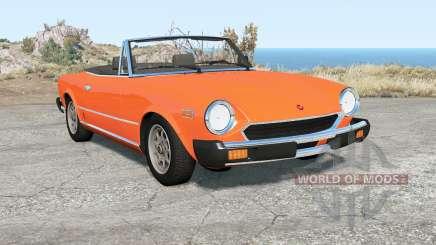 Fiat 124 Sport Spider (CS) 1975 для BeamNG Drive