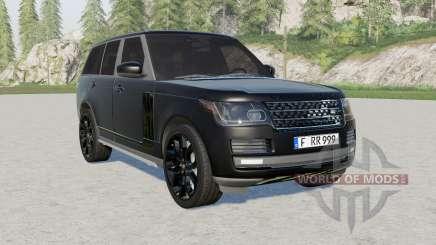 Range Rover Vogue (L405) 2013 Black для Farming Simulator 2017