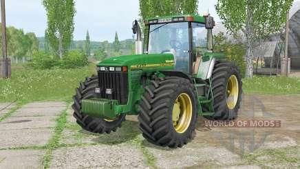 John Deere 8Ꜭ00 для Farming Simulator 2015
