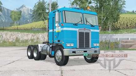 Kenworth K100 Risbergs Truck Line для Farming Simulator 2015