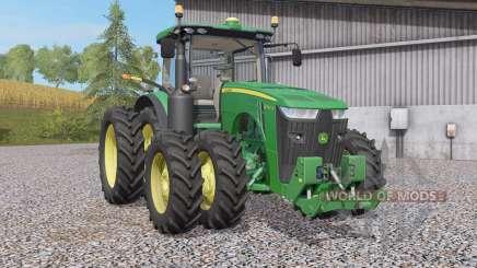 John Deere 8R-seꞅies для Farming Simulator 2017