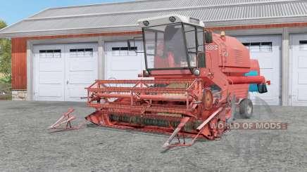 Bizon Rekord Ꙃ058 для Farming Simulator 2017