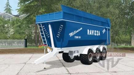 Ravizza Millenium 7200 SI для Farming Simulator 2015