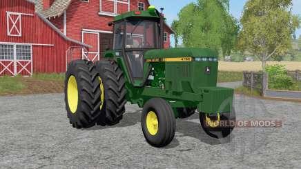John Deere ꝝ760 для Farming Simulator 2017
