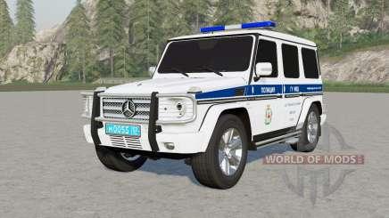 Mercedes-Benz G 55 AMG (W463) Полиция для Farming Simulator 2017