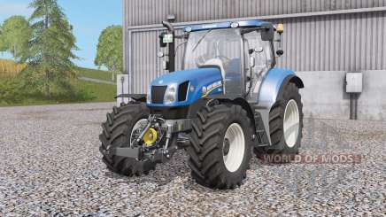 New Holland T6-serᶖes для Farming Simulator 2017