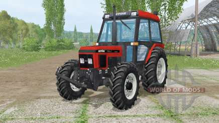 Zetor 7340 Turbꝋ для Farming Simulator 2015