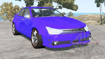 Ford Focus sedan (NA2) 2008 v1.4 для BeamNG Drive