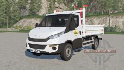Iveco Daily Chassis Cab fixed для Farming Simulator 2017