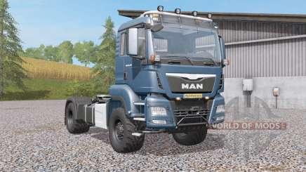 MAN TGS 18.4৪0 для Farming Simulator 2017