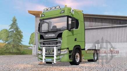 Scania S 580 для Farming Simulator 2017