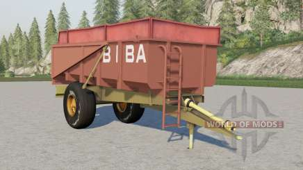 Biba 10T для Farming Simulator 2017