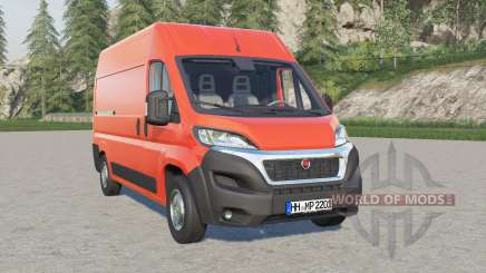 Fiat Ducato Van (290) 2014 для Farming Simulator 2017