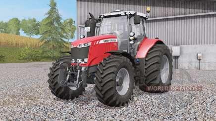 Massey Ferguson 7719〡772Զ〡7726 для Farming Simulator 2017