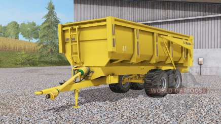 Maitre dump trailer для Farming Simulator 2017