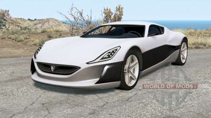 Rimac Concept One для BeamNG Drive