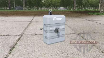 Suer weight 800 kg. для Farming Simulator 2015