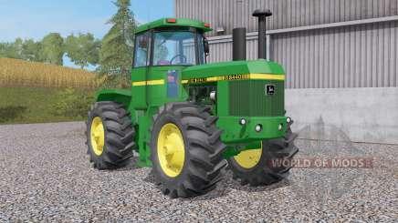 John Deere 84ꝝ0 для Farming Simulator 2017