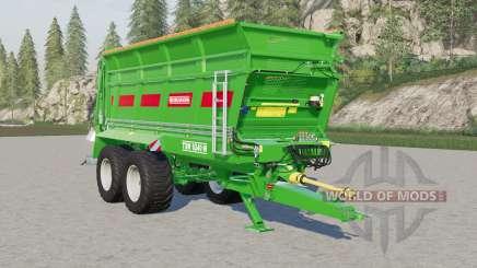 Bergmann TSW 6240 W для Farming Simulator 2017