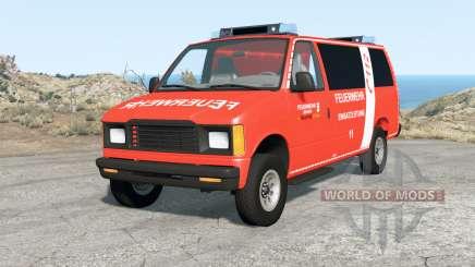 Gavril H-Series German Emergency v1.1 для BeamNG Drive
