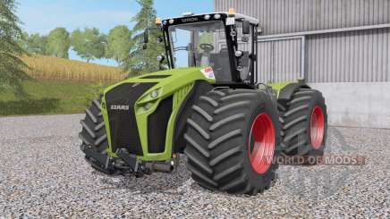 Claas Xerion 4000〡4500〡5000 Traꞇ VC для Farming Simulator 2017