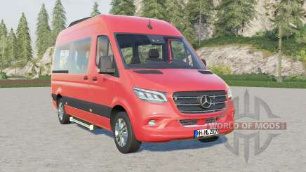 Mercedes-Benz Sprinter 319 CDI 4x4 Tourer 201৪ для Farming Simulator 2017