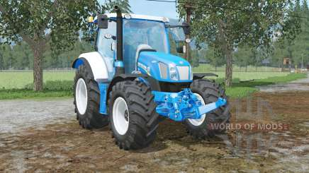 New Holland T6.160 colored in ford colors для Farming Simulator 2015