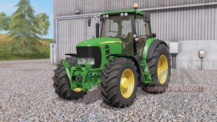John Deere 7430 & 7530 Premiꭒm для Farming Simulator 2017