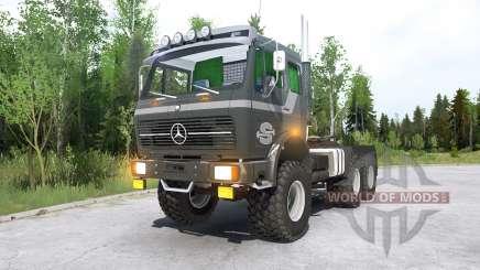 Mercedes-Benz NG 2632 (Br.395) 197Ꝝ для MudRunner
