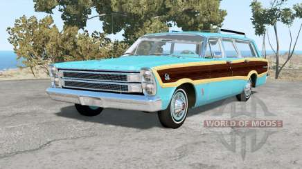 Ford Country Squire 1966 для BeamNG Drive