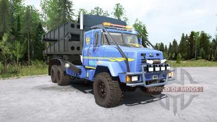 КрАЗ-63221 для MudRunner