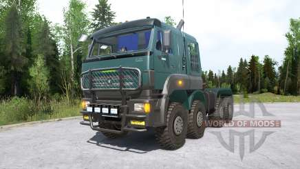 КамАЗ-652Ձ8 для MudRunner