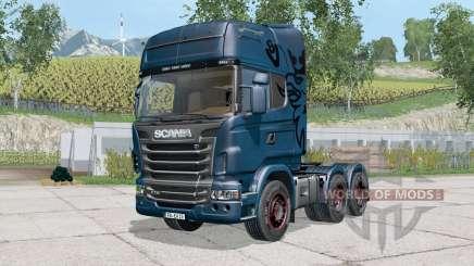 Scania R7ろ0 для Farming Simulator 2015