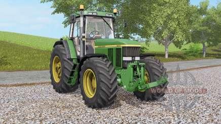 John Deere 7800 & 7৪10 для Farming Simulator 2017