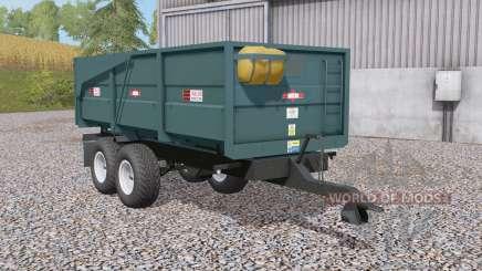 Marston ACE 10 grain & silage trailers для Farming Simulator 2017