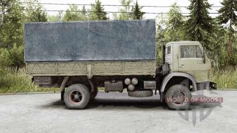 КамАЗ 4325 для Spin Tires