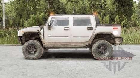 Hummer H2 SUT 2006 для Spin Tires