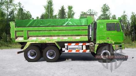 Shacman F3000 6x6 Dump Truck для Spintires MudRunner