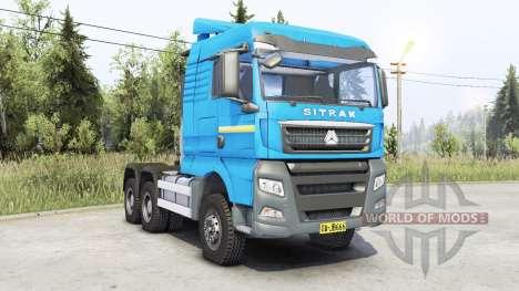 Sitrak C7H для Spin Tires