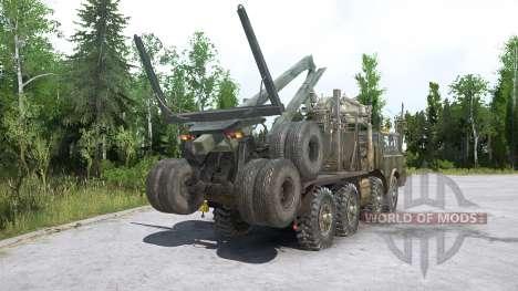 Tatra T813 для Spintires MudRunner