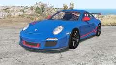 Porsche 911 GT3 RS (997) Ձ009 для BeamNG Drive